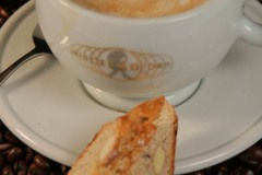 expresso and biscotti